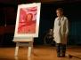 Vernisáž VO, aukce obrazu