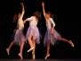 Taneční vystoupení s názvem prolínání 9. června