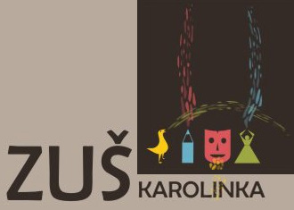ZUŠ Karolínka logo